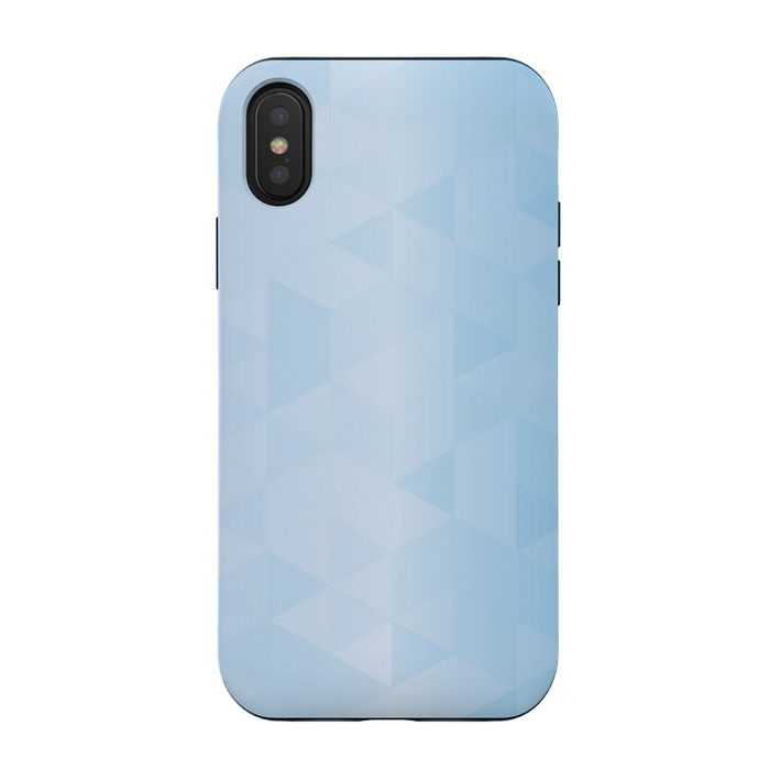 BLUE SHADE TRIANGLE PATTERN