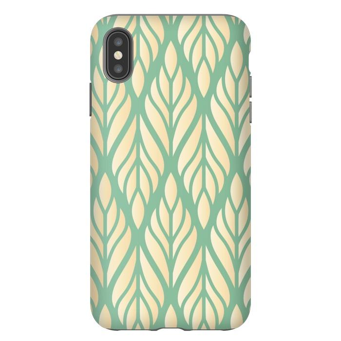 offwhite green leaf pattern
