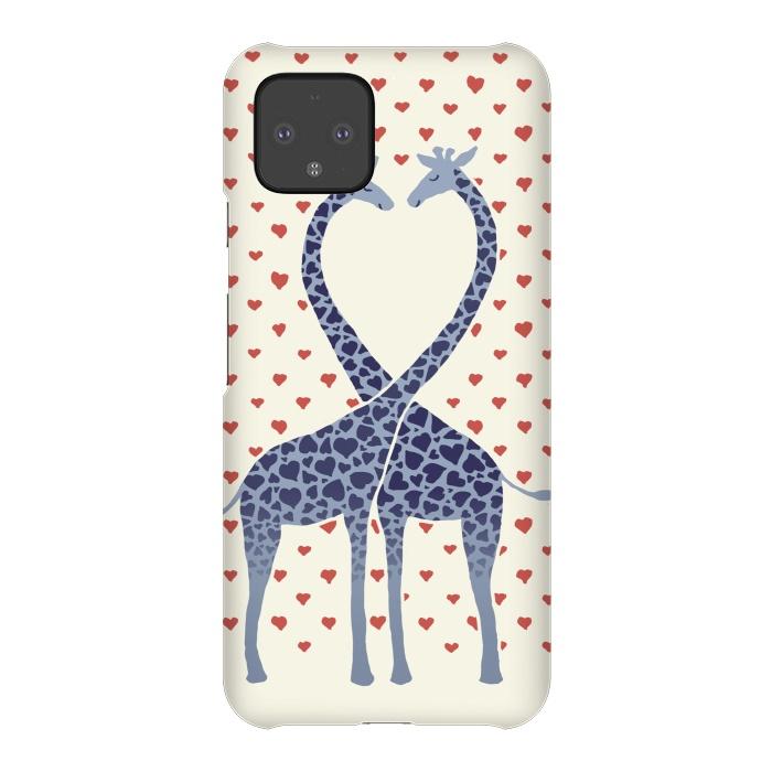 Giraffes in Love a Valentine's Day illustration