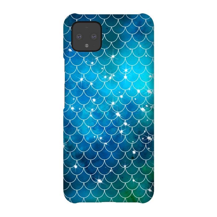 Blue Galaxy Mermaid