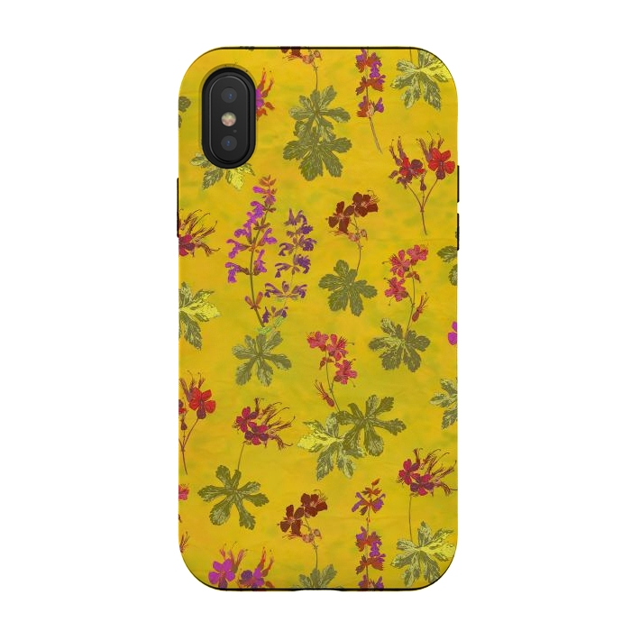 Cottage Garden Floral Yellow