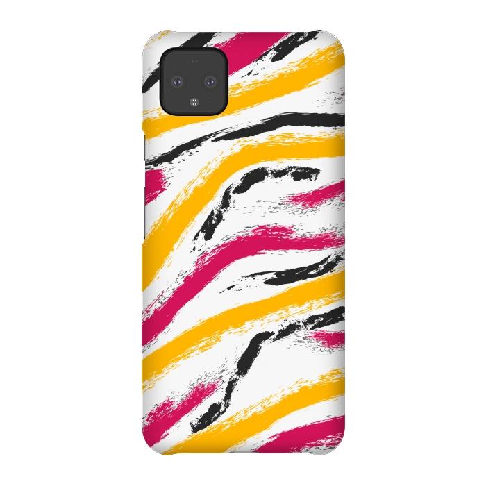 shaded zebra print