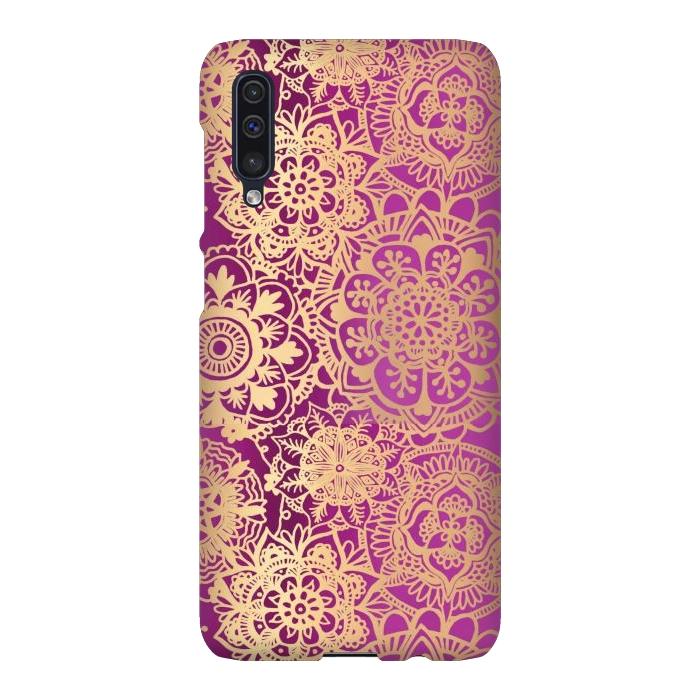 Pink and Gold Mandala Pattern