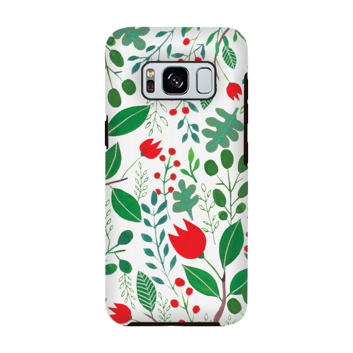 Christmas Floral White