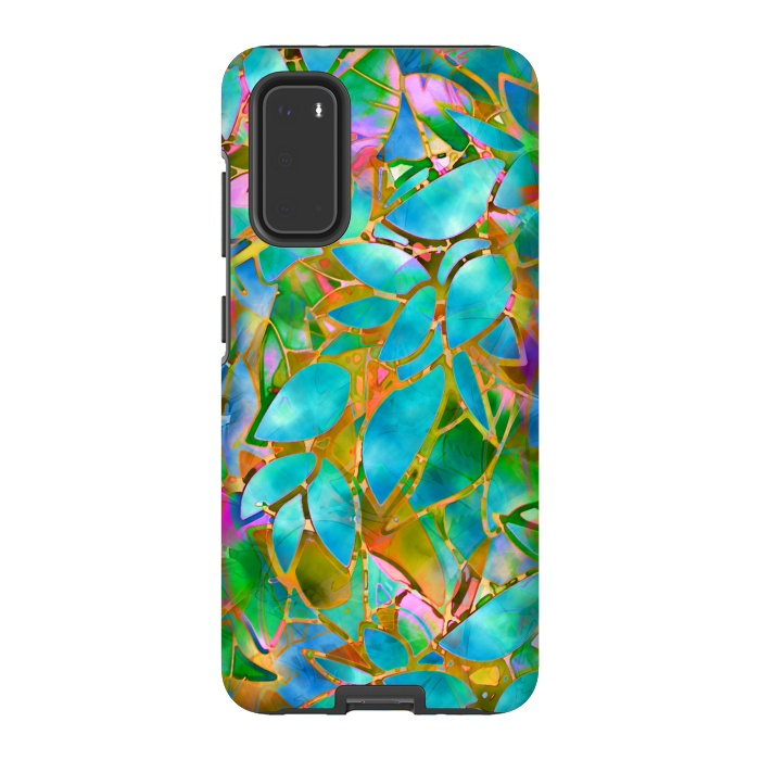 Floral Abstract Stained Glass G265