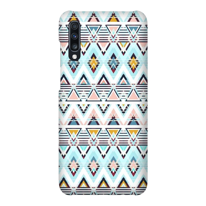 Colorful ethnic tribal triangles
