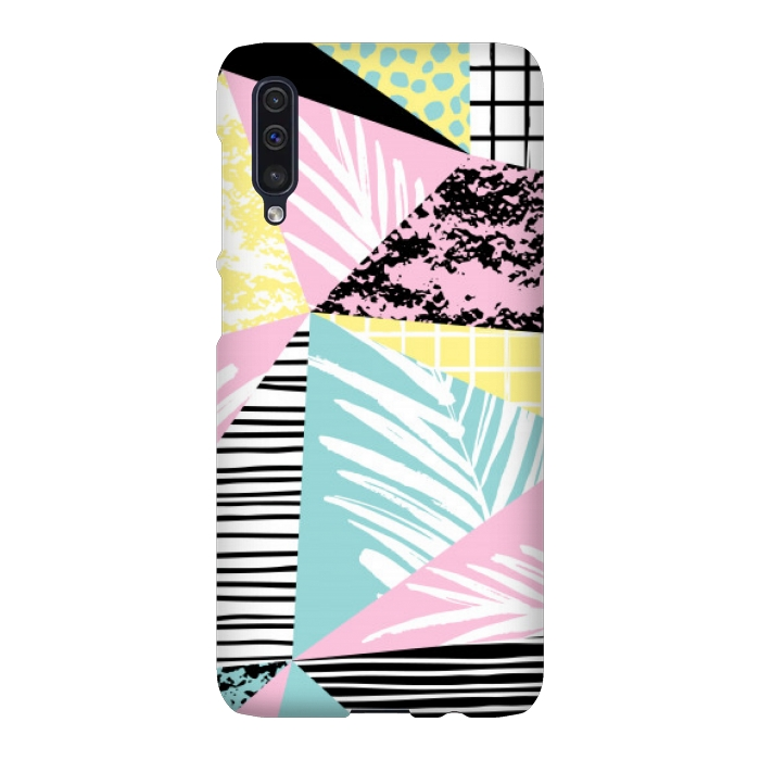 tropical abstract pink pattern