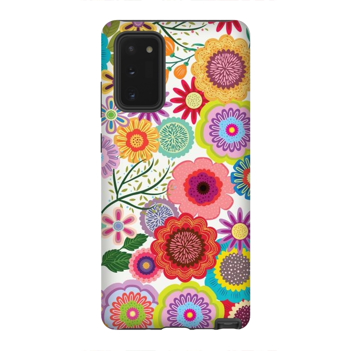 Seamless Pattern with Flowers XI