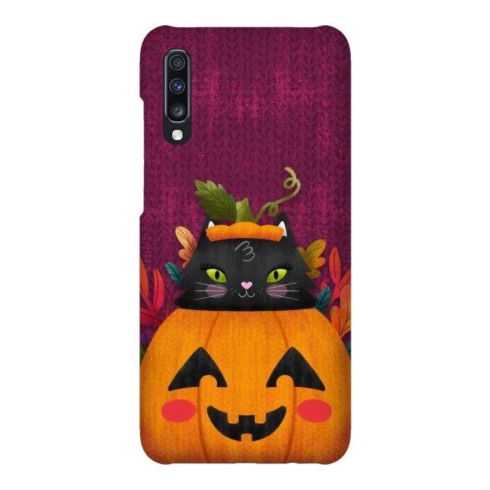 Pumpkin Kitty Peekaboo