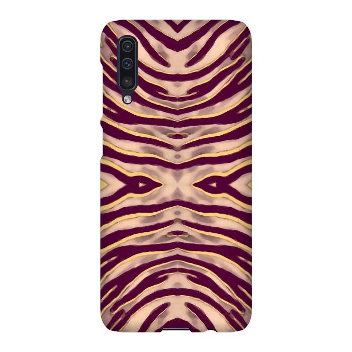 Tan brown tiger stripes print