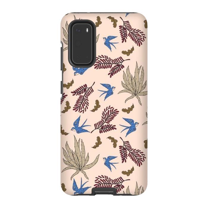 Bohemian desert birds