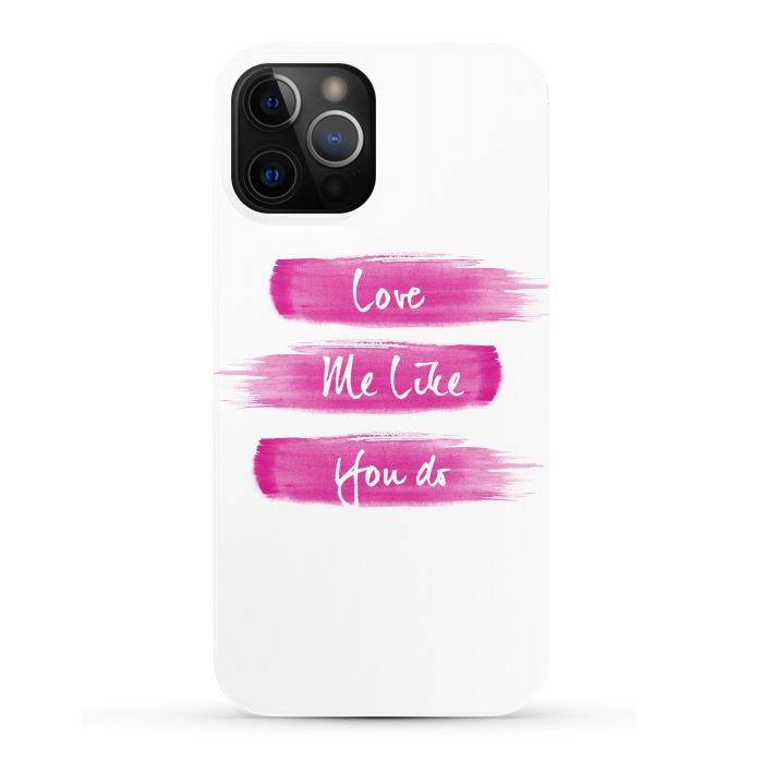 Love Me Pink Brushstrokes