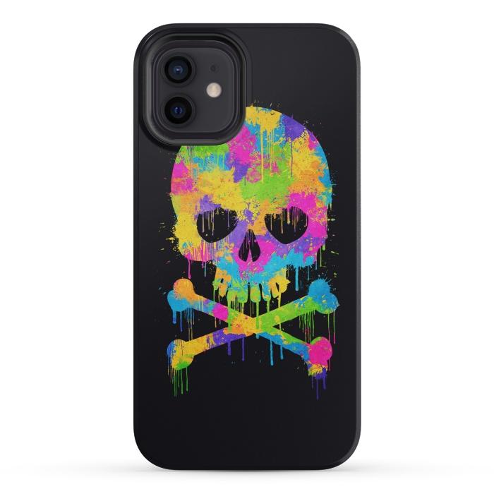 Grafitti Watercolor Skull
