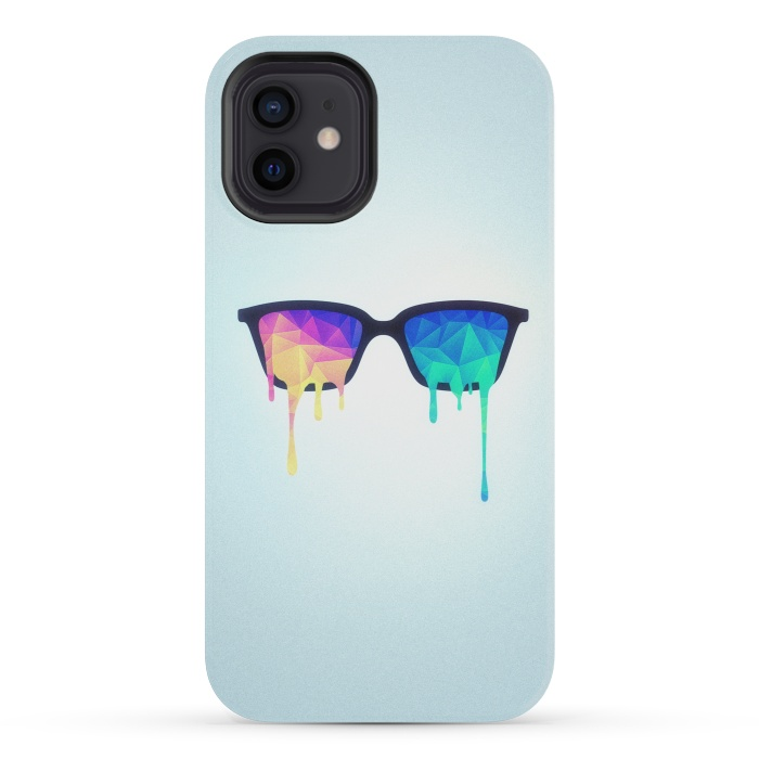 Psychedelic Nerd Glasses with Melting lsdtrippy