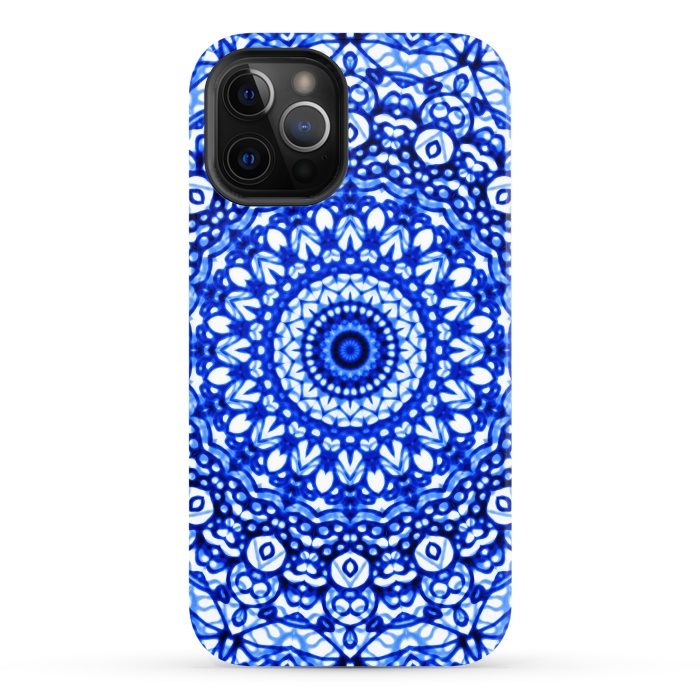 Blue Mandala Mehndi Style G403