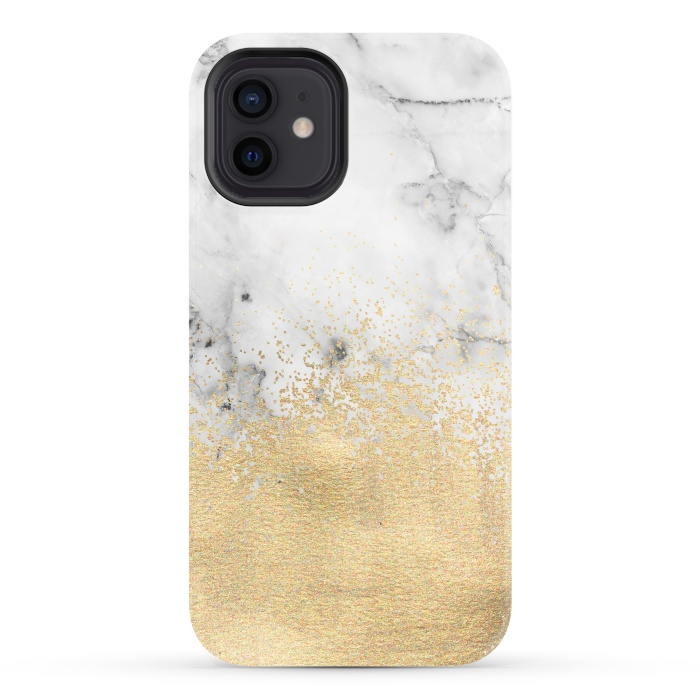 Gold Dust on Marble