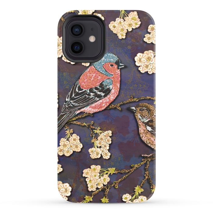 Chaffinches in Cherry Blossom
