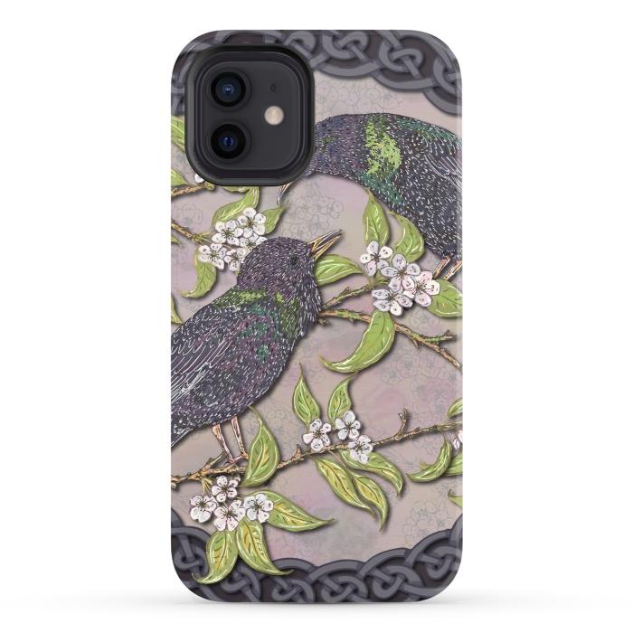 Celtic Starlings in Blossom