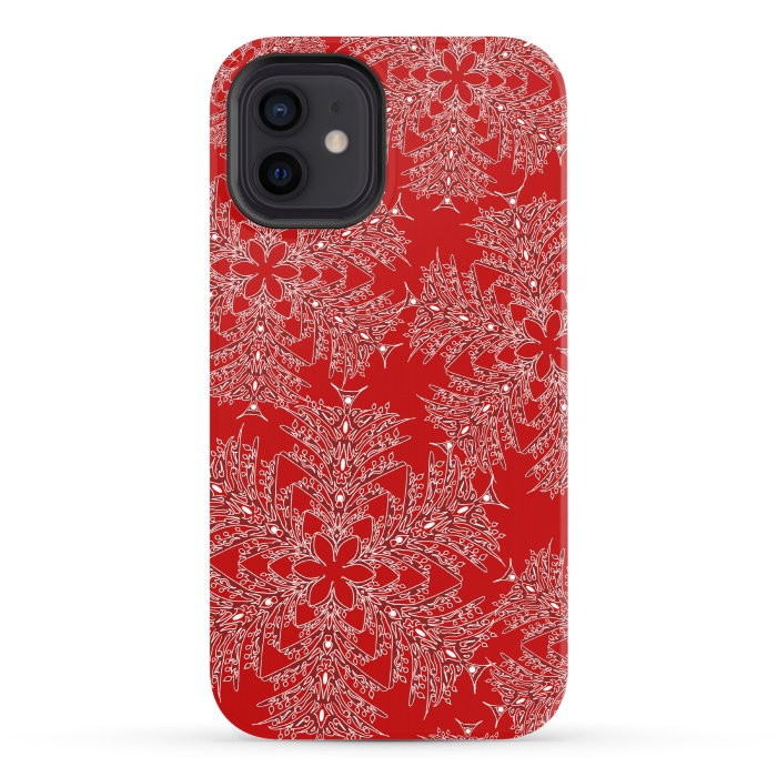 Holiday Mandalas (Red/White)