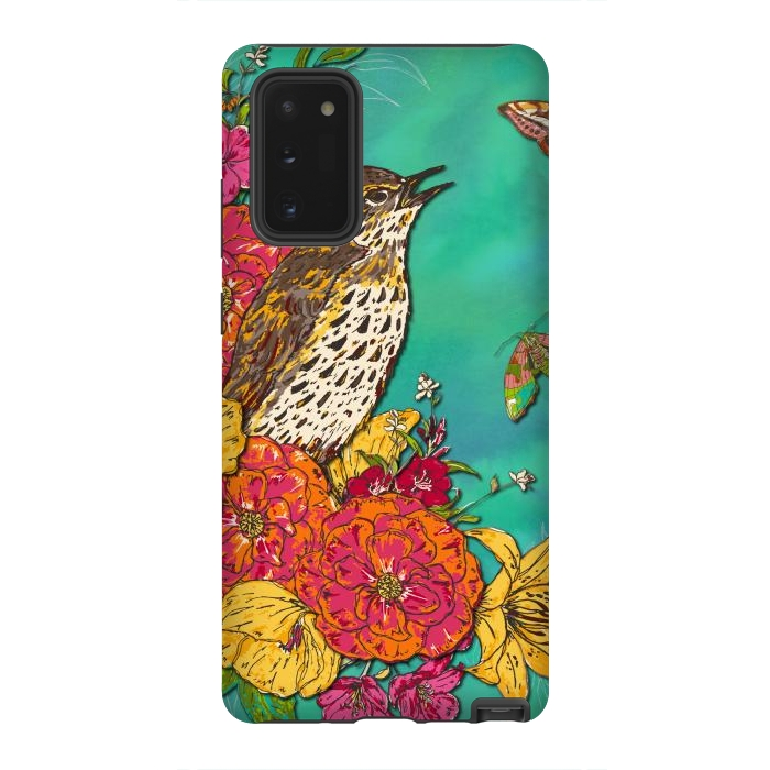 Floral Songthrush