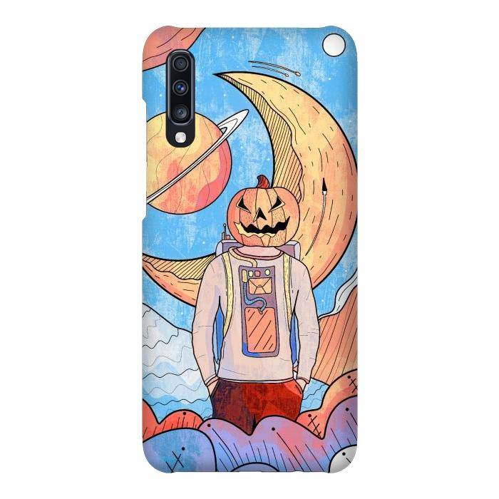 The pumpkin astronaut