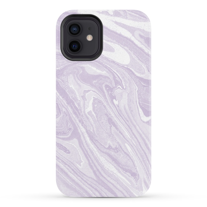 Pastel Purple lavender liquid marble