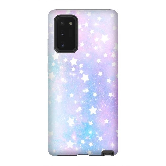 Rainbow galaxy and stars