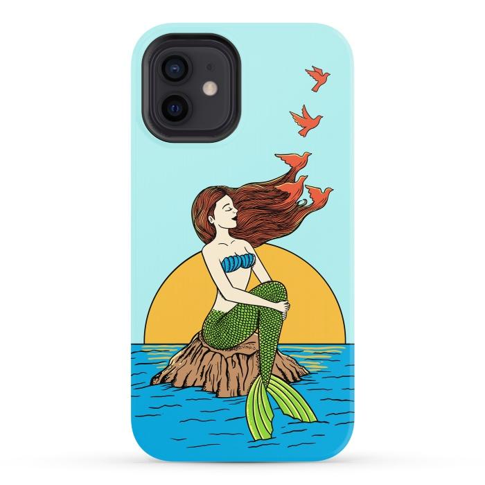 Mermaid and birds