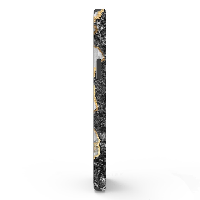 Abstract background creative marble texture and gold leaf