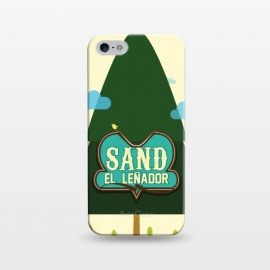 iPhone 5/5E/5s  Sand The Woodcutter by Alejandro Orjuela ()