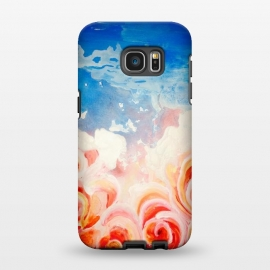 Galaxy S7 EDGE  Peachy Roses by ANoelleJay