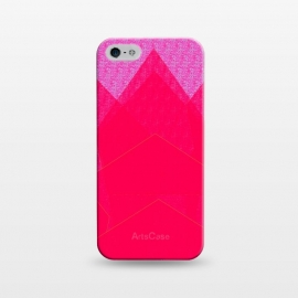 iPhone 5/5E/5s  Sunset Mountain fuschia by ANoelleJay ()