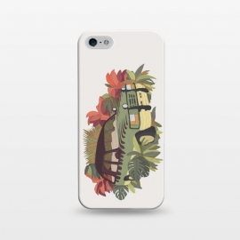 iPhone 5/5E/5s  Jurassic Car by Julien Missaire ()