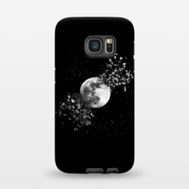 Galaxy S7  Moon Explosion by Julien Missaire