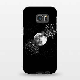 Galaxy S7 EDGE  Moon Explosion by Julien Missaire
