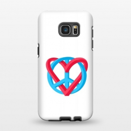 Galaxy S7 EDGE  Peace + Love by Julien Missaire