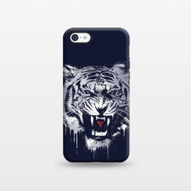 iPhone 5C  Melting Tiger by Steven Toang