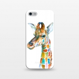 iPhone 5/5E/5s  Colorful Giraffe by Brandon Keehner ()
