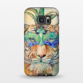 Galaxy S7  Tiger by Brandon Keehner