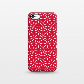 iPhone 5C  Rosy Daisy by Kimrhi Studios