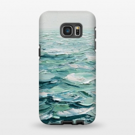 Galaxy S7 EDGE  Minty Seas by Ann Marie Coolick
