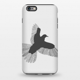 iPhone 6/6s plus  Bird Grey Poster Grey by Florent Bodart