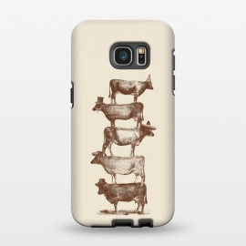 Galaxy S7 EDGE  Cow Cow Nuts by Florent Bodart