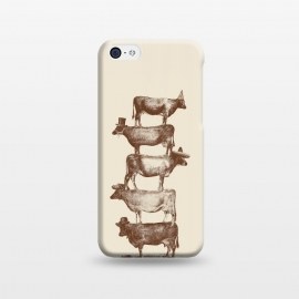 iPhone 5C  Cow Cow Nuts by Florent Bodart