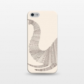 iPhone 5/5E/5s  Elephant On Beige by Florent Bodart ()