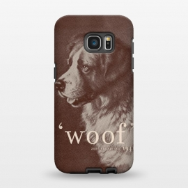 Galaxy S7 EDGE  Famous Quote Dog by Florent Bodart