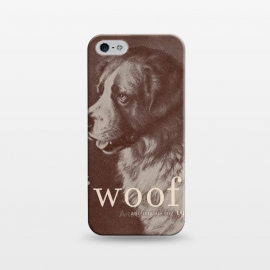 iPhone 5/5E/5s  Famous Quote Dog by Florent Bodart ()