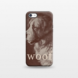 iPhone 5C  Famous Quote Dog by Florent Bodart