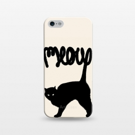 iPhone 5/5E/5s  Meow by Florent Bodart ()