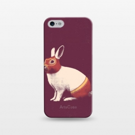 iPhone 5/5E/5s  Rabbit Wrestler SQUARE by Florent Bodart ()
